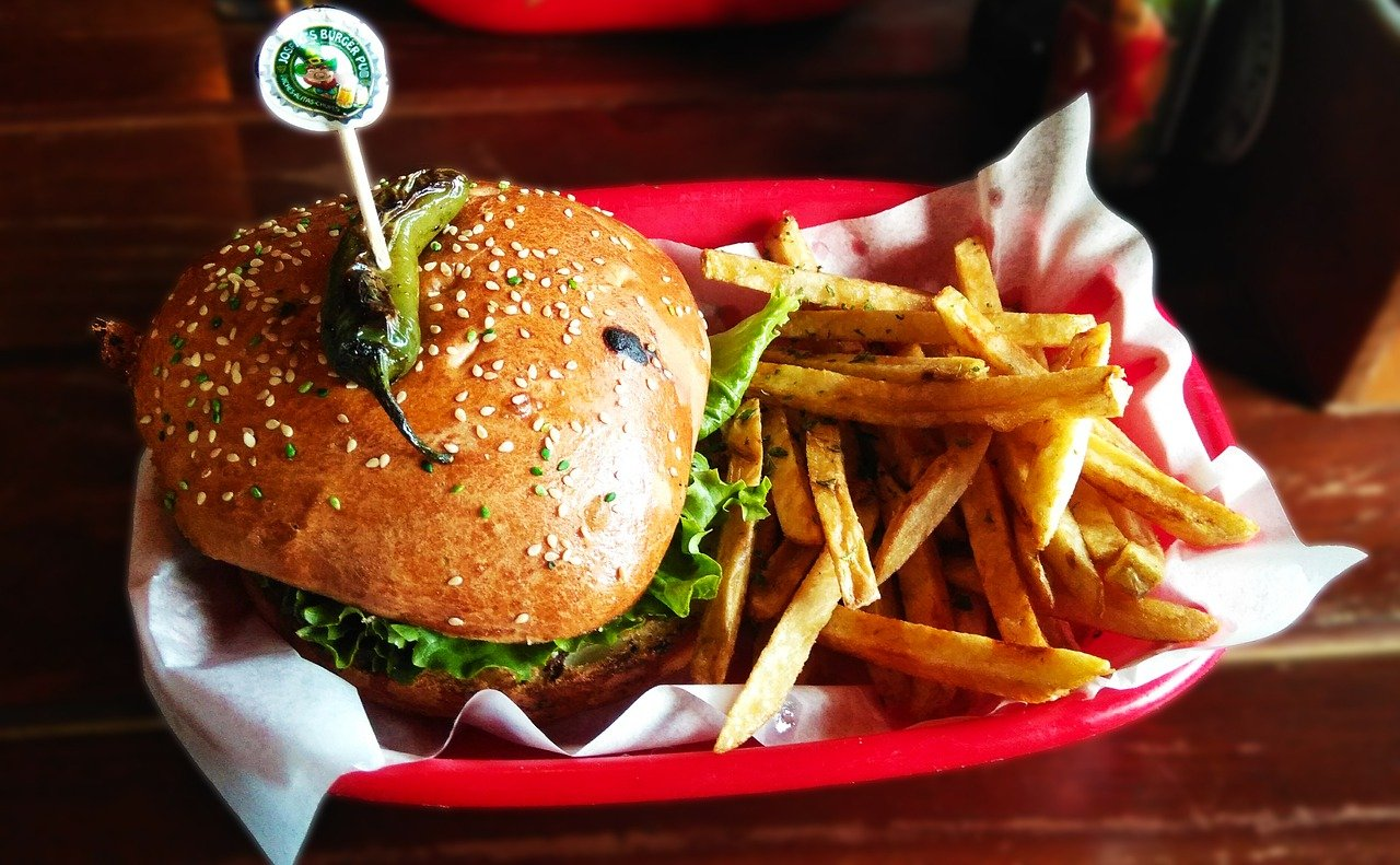 Service dans un fast food